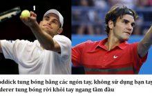 Những cách giao bóng Tennis cơ bản nhập môn tennis