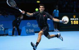 Học cú đánh Tennis thuận tay chéo sân như Djokovic