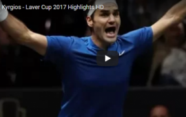 What an epic match: Roger Federer vs Nick Kyrgios – Laver Cup 2017