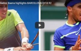 Rafael Nadal vs Roberto Carballes Baena tại Barcelona Open