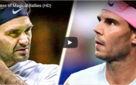 Federer vs Nadal – 10 phút Ma thuật (HD)