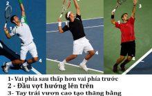 Những điều cần biết về kỹ thuật giao bóng tennis