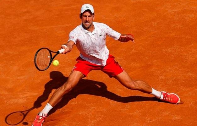 Cánh cửa tới chức vô địch Rome Masters dang rộng Djokovic