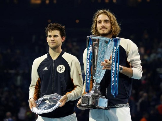 Bất ngờ khi ở  ATP Finals 2020, Nadal chung bảng với ĐKVĐ Tsitsipas