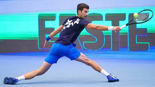 Djokovic đã vào tứ kết Vienna Mở rộng năm 2020